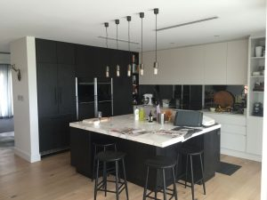 Installation of a new kitchen
