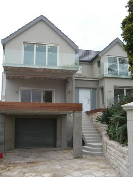 Front of house following completion